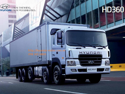 Xe Tải Hyundai HD360 5 Chân