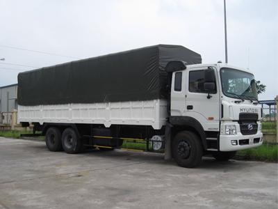 Hyundai HD250 3 Chân 15 tấn