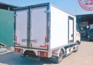 Thông số xe mighty N250 2.5 tấn đông lạnh