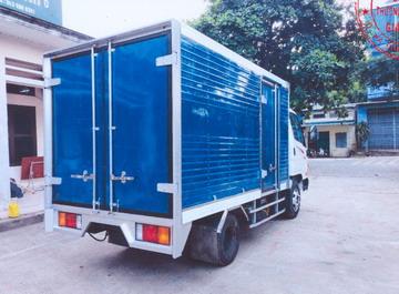 Hyundai N250 Thùng Kín Inox