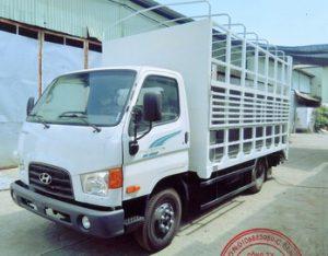 Hyundai 75s 3.5 Tấn Thùng Chở Xe Máy