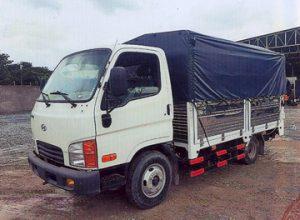 Thông số xe tải N250 2.5 tấn mui bạt bửng nâng