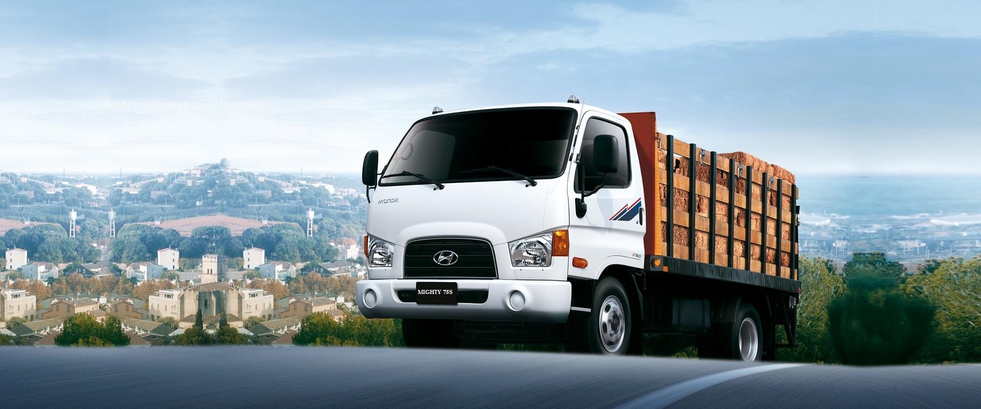 Hyundai New Mighty 75S 3.5 tan