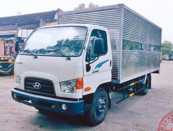 Hyundai 75s 3.5 Tấn Thùng Kín Inox
