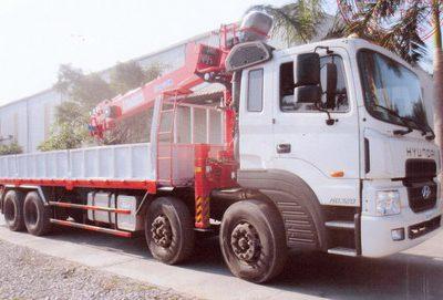 Hyundai HD320 Lắp Cẩu Kanglim 7 tấn