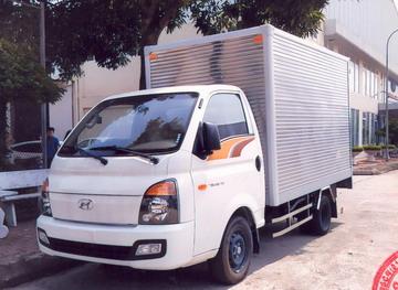 Hyundai Porter 150 Thùng Kín Inox