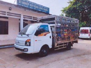 Hyundai Porter H150 Chở Gia Cầm