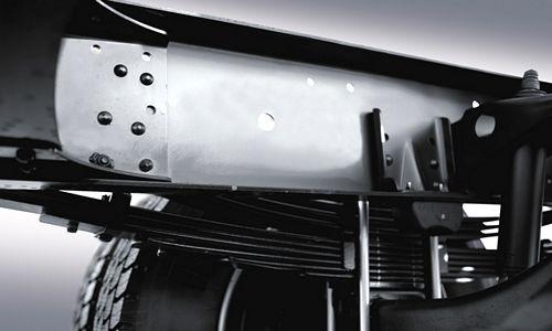 Hệ thống treo cầu trước xe tải hyundai 8 tấn mighty ex8