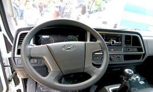 Nội thất Hyundai 8 tấn Mighty EX8