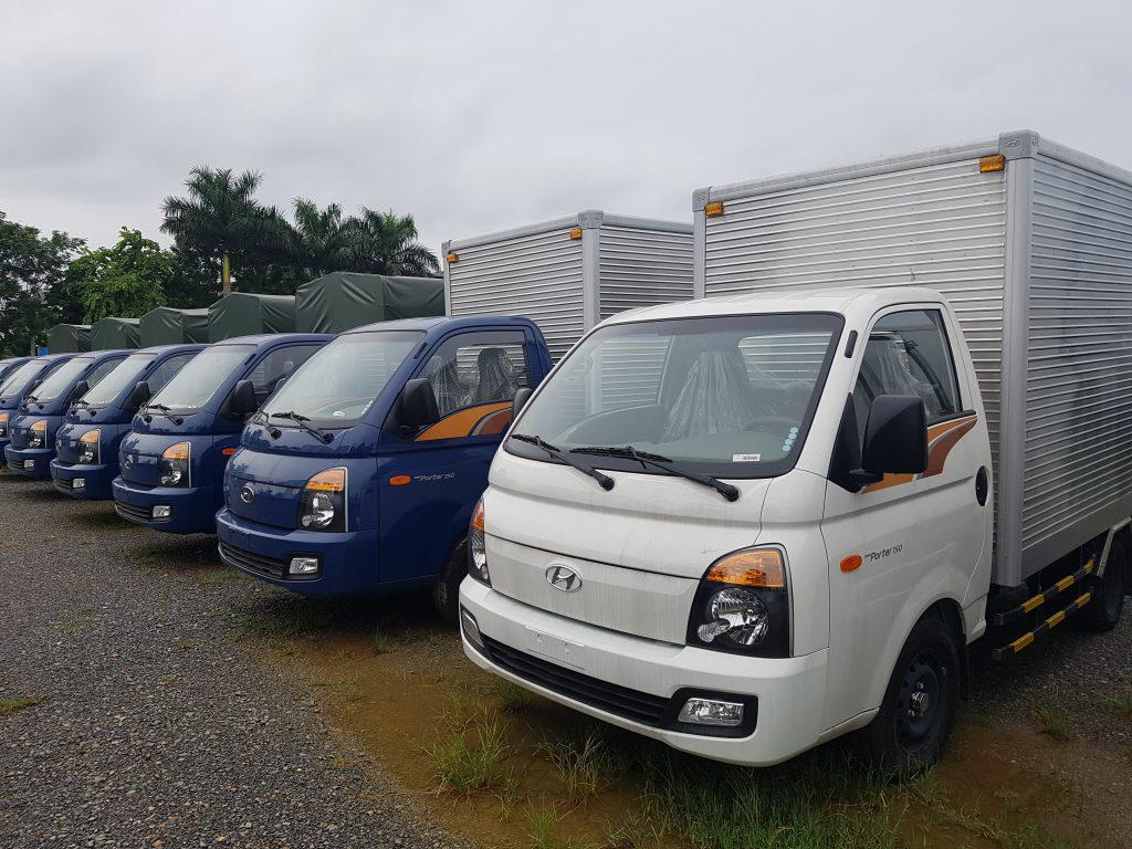 Giá xe tải hyundai porter 150 1.5 tấn