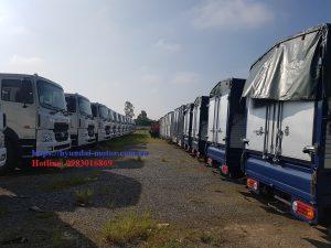 Giá các loại xe tải hyundai nhập khẩu
