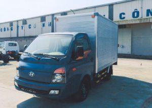 Ảnh Hyundai porter 150 thùng kín inox