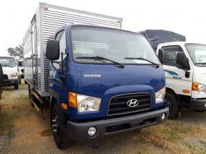 Xe tải hyundai 110sp 7 tấn thùng kín inox