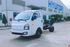 Hyundai porter 150 1.5 tấn chassis