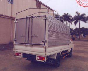 Xe tải Hyundai porte 150 1.5 tấn mui bạt, kiểu thùng đóng từ thùng lửng