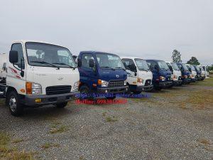 Các loại Xe tải hyundai lắp ráp