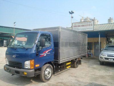 Hyundai N250SL 2.5 Tấn Thùng Kín inox