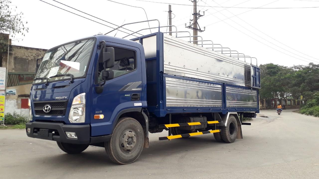 Hyundai ex8l 8 tấn mui bạt