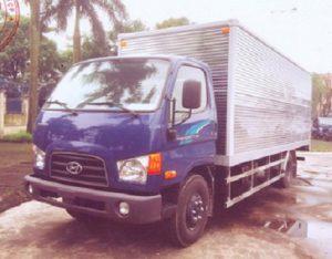 Hyundai110SL 7 Tấn Thùng Kín Inox