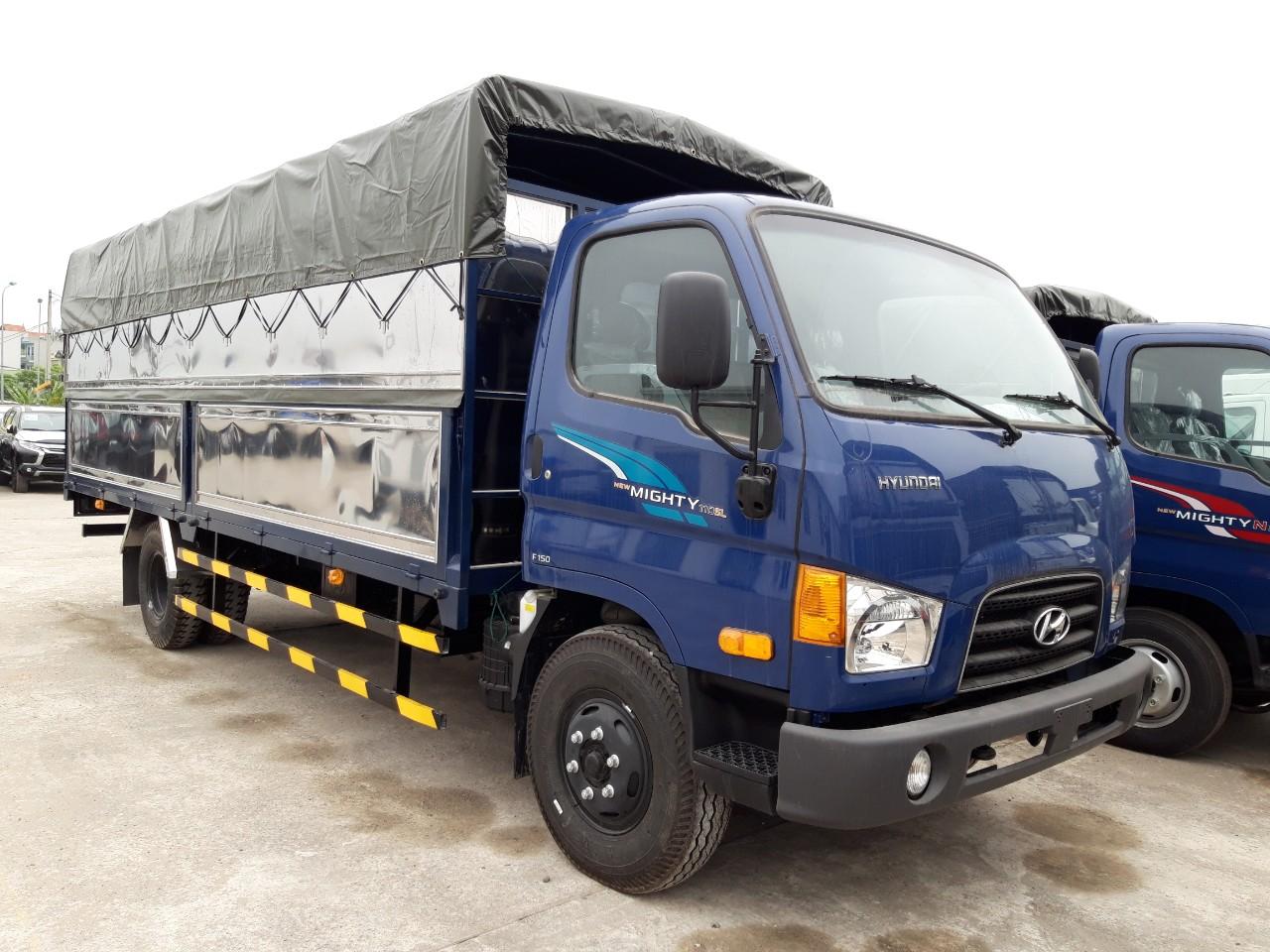 Hyundai 110SL 7 Tấn Thùng Mui Bạt