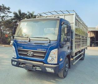 Hyundai EX8L Chở Gia Súc