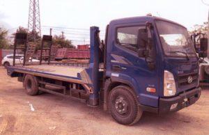 Hyundai EX8L Nâng Đầu Chở Máy