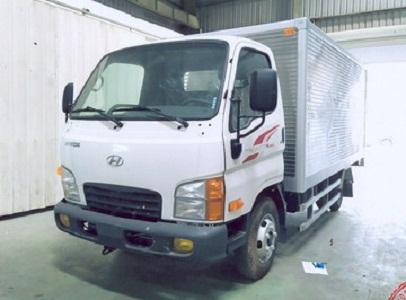 Xe Tải Hyundai N250SL 2.5 Tấn Thùng Kín Inox