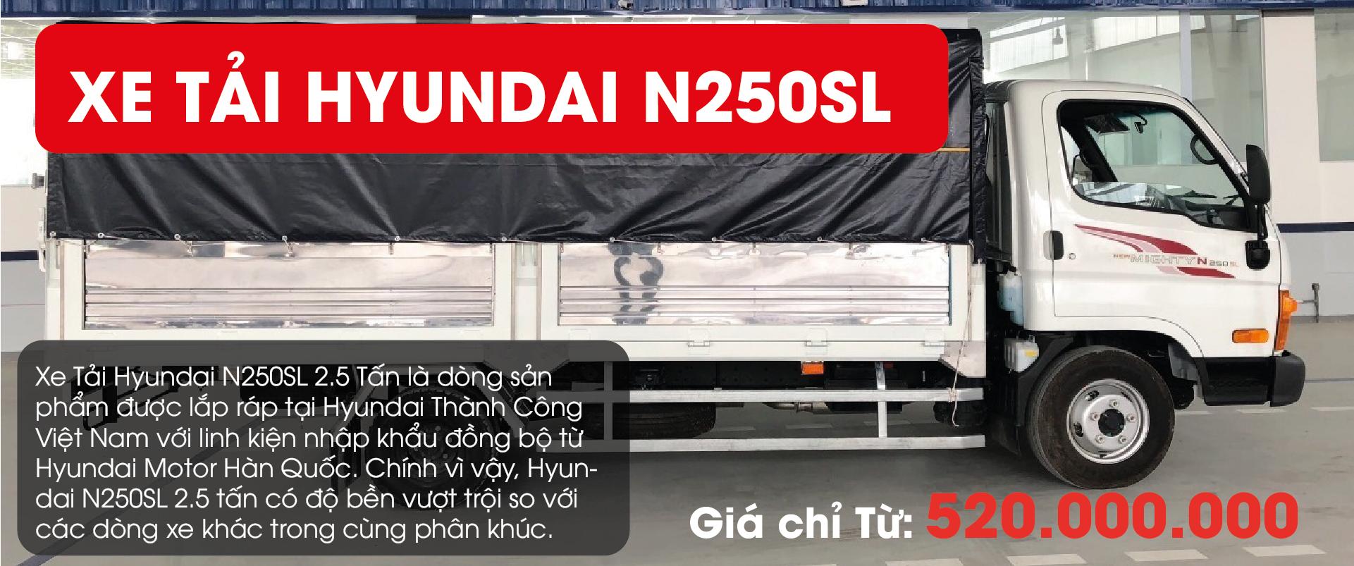 Hyundai N250SL 2.5 Tấn