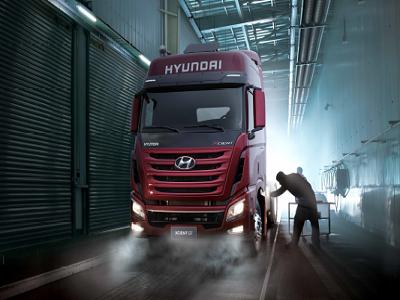 Ngoại thất Hyundai xcient 440
