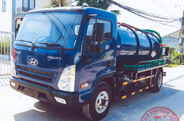 Hyundai Ex8 GT S2 Hút Chất Thải