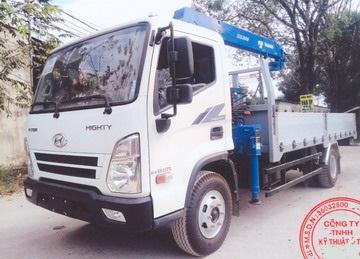 Hyundai Ex8 GTL Lắp Cẩu Tadano 3 Tấn