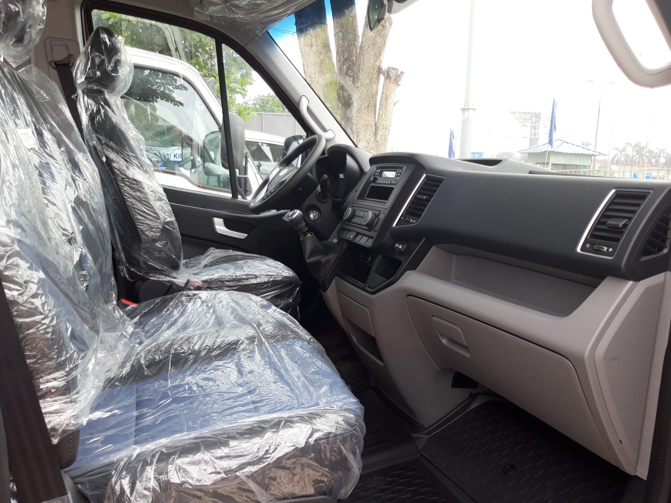 Nội Thất Cabin Xe Cứu Thương Hyundai Solati